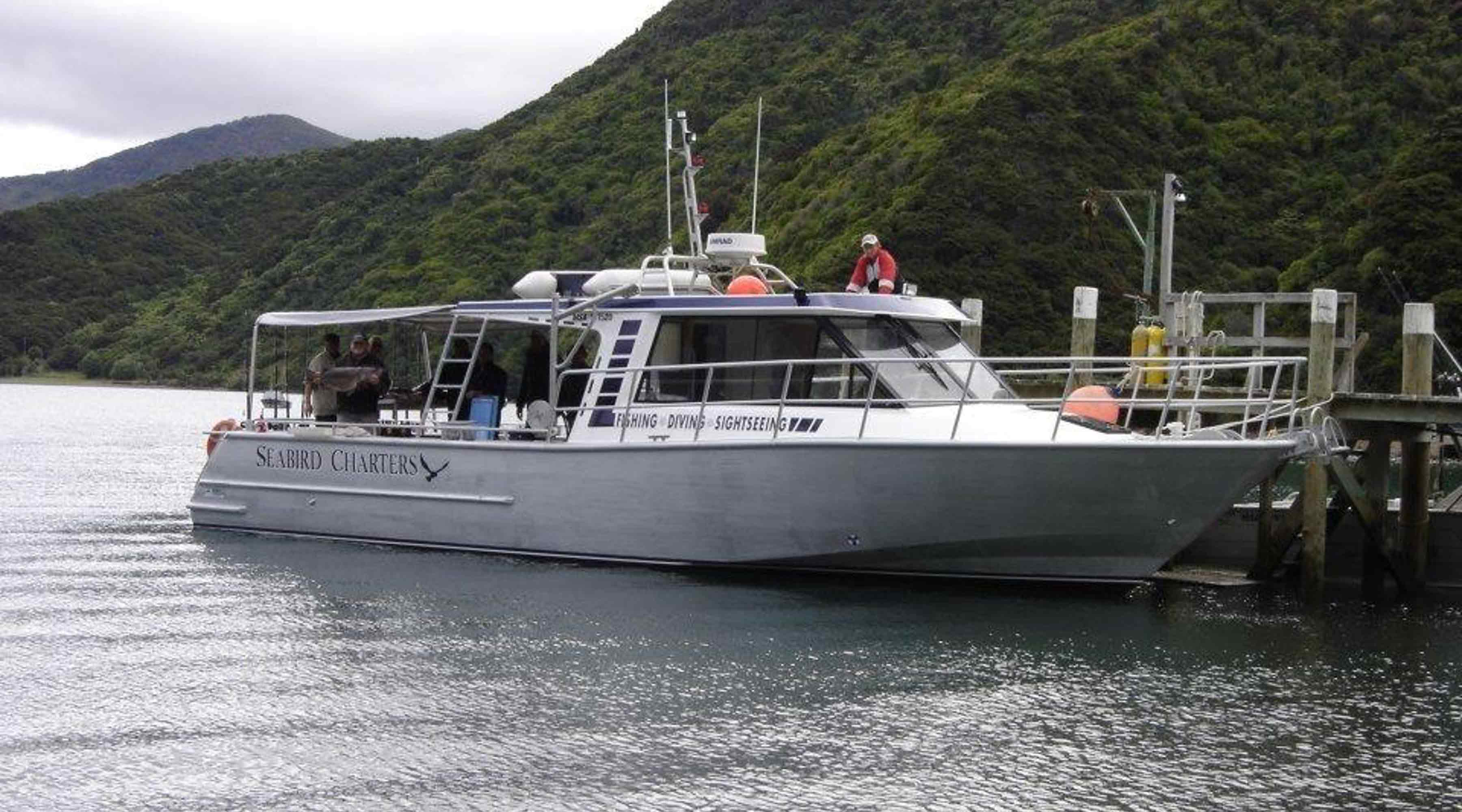 Our Charter Boat: The MV Cappy